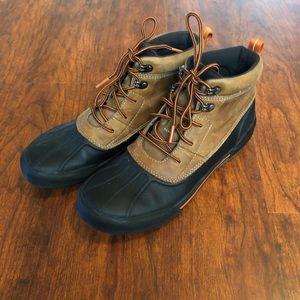 Clark's waterproof boat shoes